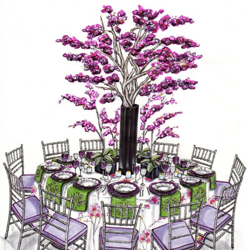 The Orchid Dinner