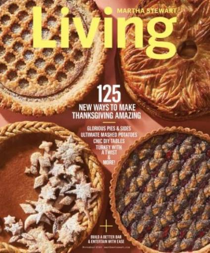 Martha Stewart Living November 2016