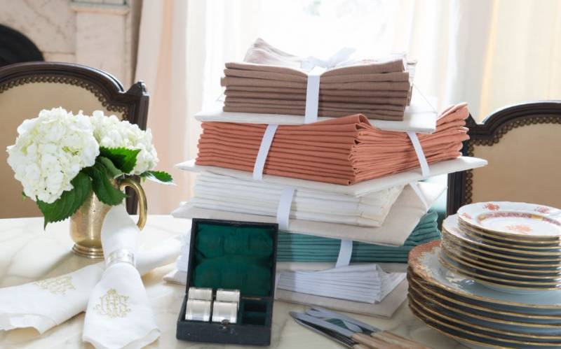 Table Linen Storage Solution