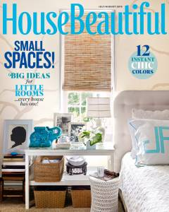 House Beautiful July/August 2015