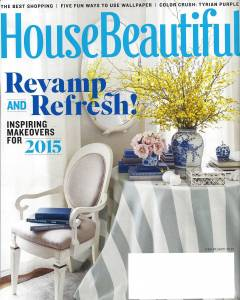 House Beautiful March 2015