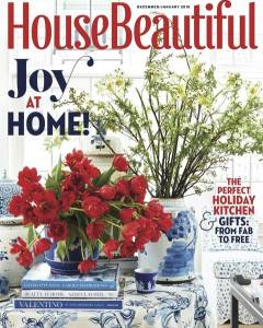 House Beautiful December/January 2017 Feature 2