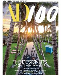 Architectural Digest January 2018