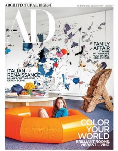 Architectural Digest - August 2017