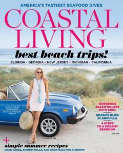 Coastal Living June 2016