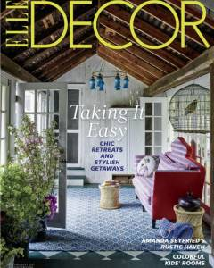 Elle Decor July/August 2017