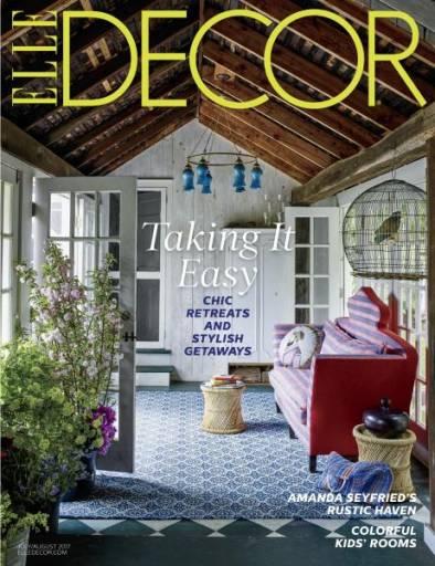 Elle Decor July/August 2017