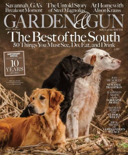 Garden & Gun - April/May 2017