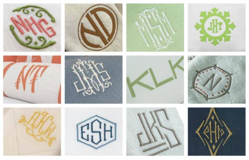 Monogram Monday: A Year In Review
