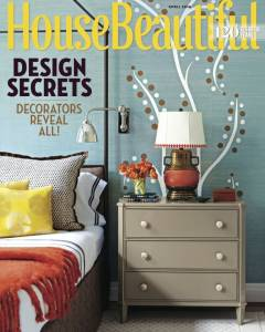 House Beautiful April 2016