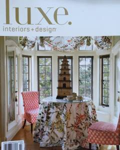 Luxe Interiors + Designs Jan/Feb. 2016