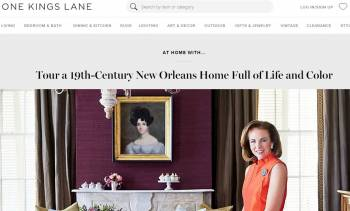 One Kings Lane Tastemaker Feature