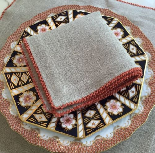 Picot Table Linens