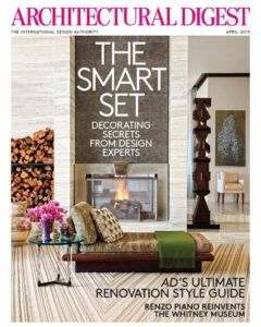 Architectural Digest 2015 04 Cover