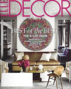 Elle Decor Cover June 2014