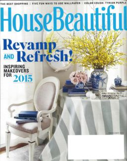 20150102 House Beautiful Cover