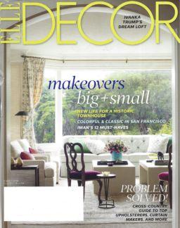 Elle Decor Cover 2014