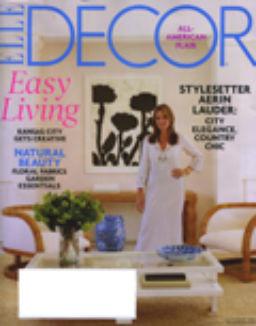 Web0709 Elle Decor Cover