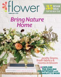 Flower Magazine Cover