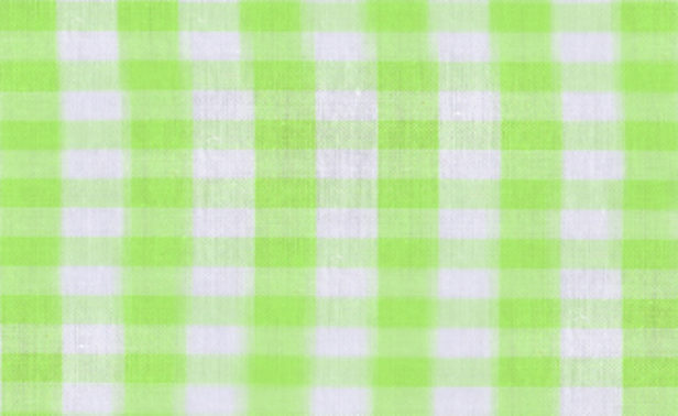 Gingham Lime Green Large Edited